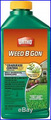 12 Ortho 9994610 40 oz Weed B Gon plus Crabgrass Control Concentrate Weed Killer