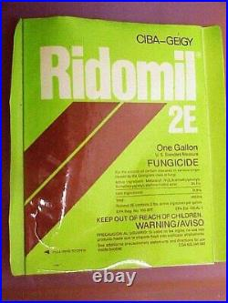 1 Gallon Ridomil 2E Fungicide