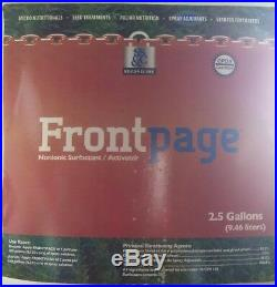 2/2.5GAL Front page Nonionic Surfactant