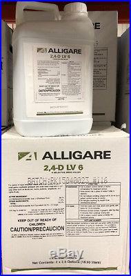 2,4-D LV6 (Weedone LV6) Broadleaf Herbicide 5 Gallons (2x 2.5 gals) 24d