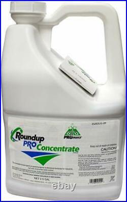 2.5 Gallon Jug RoundUp Pro Concentrate Herbicide 50.2% Glyphosate