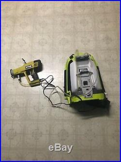 2 battery powered backpack sprayers ryobi