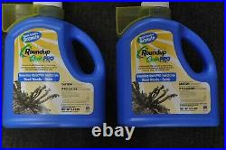 2 jugs of Round Up Quik Pro Granules 6.8 lbs. Roundup Quickpro FREE SHIPPING