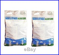 2 x Cutrine Plus Granular Algaecide, 3.7% Copper 30 lb bags