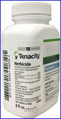 46256 Tenacity Herbicide Clear & Southern Ag 12202 Surfactant for Herbicides 8oz