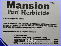 (4 Bottles) Mansion Turf Herbicide 2 oz. Water Dispersible Granule 10154442