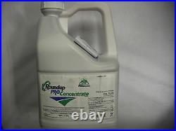 50.2% Glyphosate 2.5 Gallon RoundUp Pro Concentrate GREAT WEED KILLER