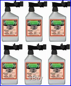 (6) Ferti-Lome 10527 32 oz RTS Weed Free Zone Broadleaf Lawn Weed Killer