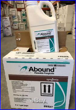 Abound Fungicide 4 Gallons (4x 1 gal), Azoxystrobin 22.9% (Syngenta)