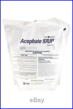 Acephate 97UP Insecticide 10 lb (Replaces Orthene 97 Insecticide), UPI