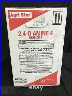 Agri Star 2,4-D Amine 4 Herbicide, Weed Killer (2x2.5-Gal. Concentrate)
