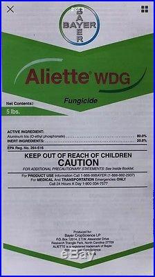 Aliette WDG Systemic Fungicide 5 LB