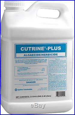 Applied Biochemists 390225A Cutrine-Plus Aquatic Algaecide 2.5 gal