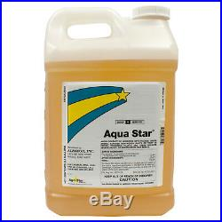 Aquatic Herbicide 2.5 Gallons Kills Aquatic Weeds Pond Weeds Glyphosate 53.8%