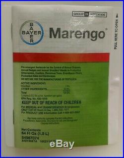 Bayer Marengo sc Ornament Herbicide. 5 GAL. Indaziflam 7.4% Nursery Closing