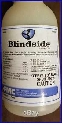 Blindside Herbicide 8 oz Brand New Sealed Bottle FMC37 with measure cup