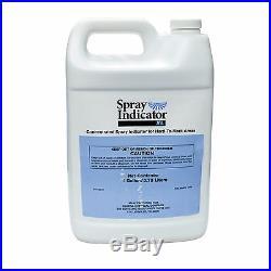 Blue Spray Indicator XL 1 GL Blue Turf Spray Herbicides Pesticides Termiticides