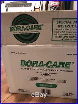 Brand New Bora Care (Boracare) Termite Termiticide Fungicide 4 Gallons NIB