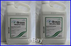 Bravo Weather Stik Fungicide-5 Gallon (2x2.5 gal) Chlorothalonil 54% by Syngenta