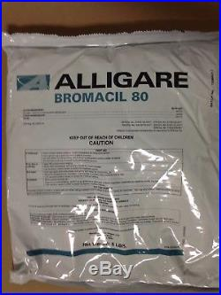 Bromacil 80WG Herbicide 6 Pounds (Replaces Hyvar) by Alligare