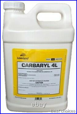 Carbaryl 4L (Liquid Sevin) Garden Insecticide 2.5 Gallons