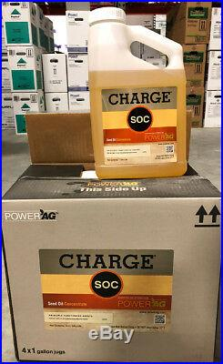 Charge SOC 4 Gallons (4x1 gal) (Replaces Crop Oil, Peptoil) by PowerAg