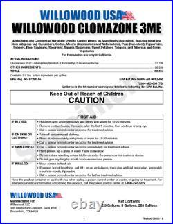 Clomazone 3ME Herbicide 2.5 Gallon