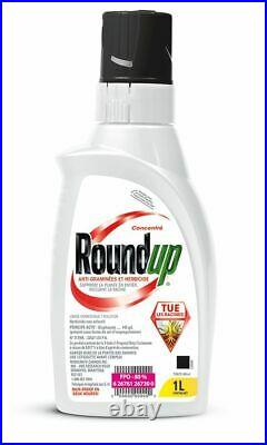 Combo package ROUNDUP CONCENTRATED GRASS WEED KILLER + KILLEX Concentrate 1L