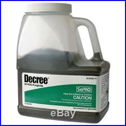 Decree 50 WDG Fungicide 2.5 Lbs