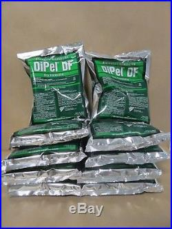 DiPel Biological Insecticide 10 Pounds (10x1lb bags) (OMRI Certified Organic)