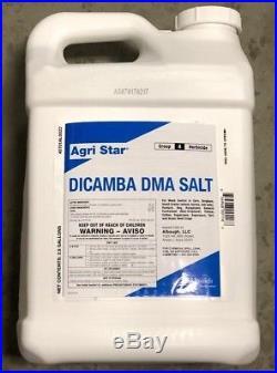 Dicamba DMA Broadleaf Herbicide 2.5 Gallons Replaces Banvel, Topeka