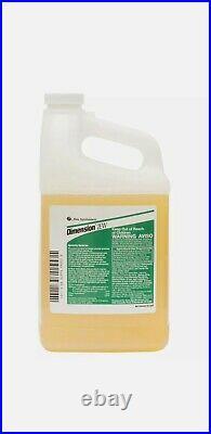 Dimension 2EW Preemergent Herbicide 24% Dithiopyr for crabgrass 1/2 gal