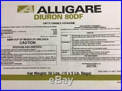 Diuron 80DF Herbicide 10-5lb bags (Total of 50lbs) (Karmex DF) by Alligare