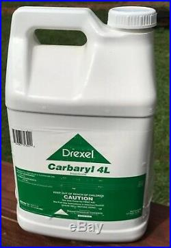 Drexel Carbaryl 4L (Liquid Sevin) Garden Insecticide 2.5 Gallons NOS