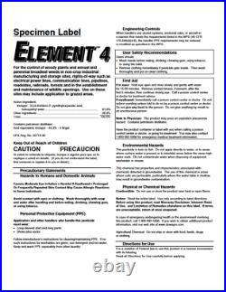 Element 4 (Triclopyr 4) Herbicide (2.5 Gallon)
