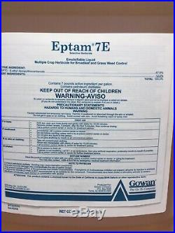 Eptam 7E Herbicide 5 Gallons (2x2.5 gal) by Gowan