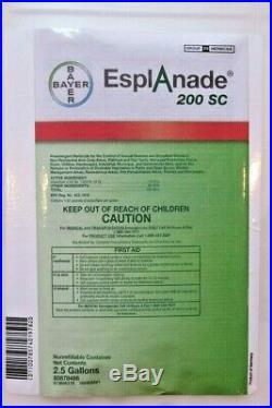 EsplAnade 200 SC Pre-emergent Herbicde, 2.5 gallon (320 oz), Indaziflam, Bayer