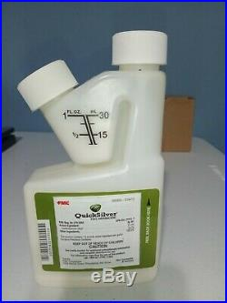FMC Quicksilver T&O Herbicide 8oz bottle Free Shipping