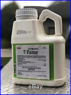 Fame SC Fungicide 0.5 Gallon FMC Brown Patch Turf Golf Residential $1400+ Value