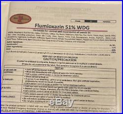 Flumioxazin 51% WDG Herbicide 5 Pounds- Unopened Identical to Suregaurd