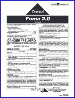 Foma 2.0 Reflex Generic Herbicide (2.5 gal)