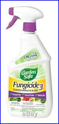 Garden Safe Fungicide 3 Organic Concentrated Liquid Fungicide 24 oz