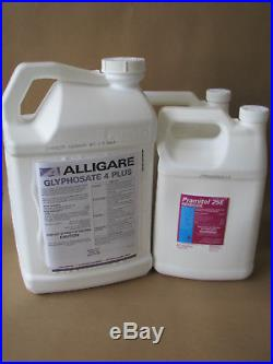 Glyphosate 4 Plus Herbicide 2.5 Gal + 2 Gal Pramitol Herbicide