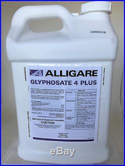 Glyphosate 4 + Plus Herbicide 41% Glyphosate With Surfactant 2.5 Gallon Cred