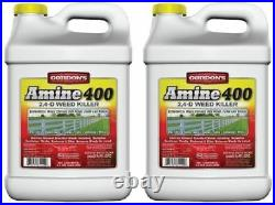 Gordon's 8141122 Amine 400 2.5 Gallon 2, 4-D Weed Killer Concentrate Pack of 2