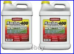 Gordons 8141122 Amine 400 Weed Killer, 2,4-D, 2.5-Gal. Concentrate Quantity 2