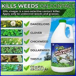 Green Gobbler Weed Killers 20% Horticultural Vinegar Herbicide Natural Organic
