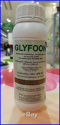 Herbicida Total 500 Ml, Sistémico. No Residual