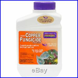 Liquid Copper Fungicide Concentrate (CASE of 12 Pints) Mildews Black Spots Rust