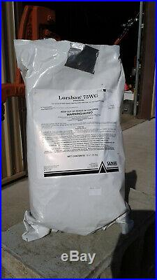 Lorsban 75WG Insecticide 5.32 Pounds, Chlorpyrifos 75% by Gowan